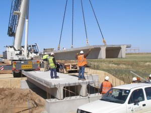 Lowering a concrete section - Mace Engineering Services