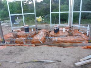 Footings civil design footing construction concrete