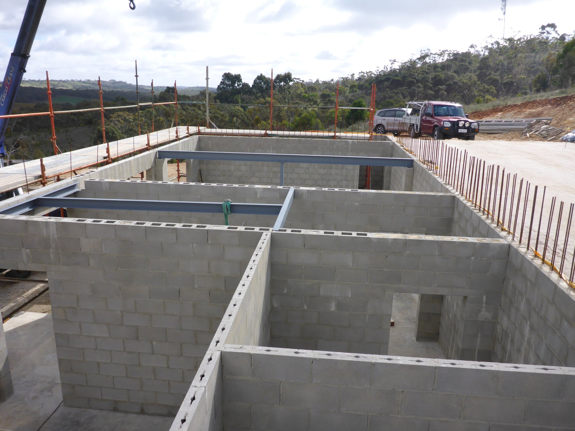 Structural Concrete Slabs : Residential house spring gully mace engineering